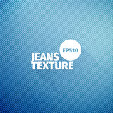 Jeans texture. Vector cloth background. Fabric blue pattern. For web Stock Photography
