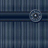Jeans textured background Stock Image