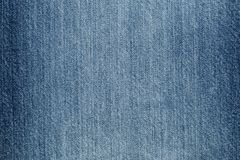 Jeans texturisés bleus de denim Photos stock