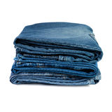 Jeans things stacked stack Royalty Free Stock Photography