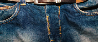 Jeans trousers Stock Images