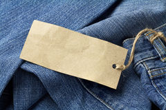 Jeans trousers Royalty Free Stock Images