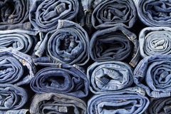 Jeans trousers Royalty Free Stock Image