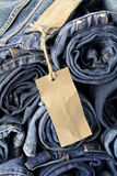 Jeans trousers Royalty Free Stock Photography