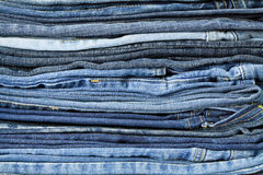Jeans trousers Stock Photography