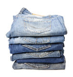 Jeans trousers Stock Photo