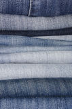 Jeans trousers Royalty Free Stock Photo