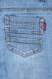 Jeans unterstützen Tasche lizenzfreies stockbild