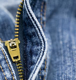 Jeans Unzipped Royalty Free Stock Images