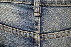 Jeans van achtergrondtextuur Royalty-vrije Stock Afbeeldingen