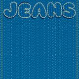 Jeans Vector Background. Ready for Text and Design Royalty Free Stock Photography