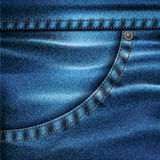 Jeans Vector Background Set 3 Stock Photos