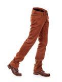 Jeans volumineux vides d'e avec des bottes photo libre de droits