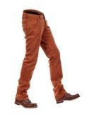 Jeans volumineux vides d'e avec des bottes photos libres de droits