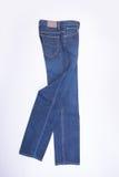 jeans voor mensen of jeans op een achtergrond Stock Fotografie