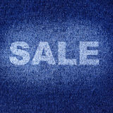 Jeans wear sale Stock Photo