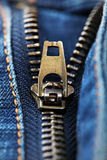 Jeans Zipper Royalty Free Stock Images