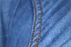 Jeans zoomar royaltyfri fotografi