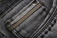 Jeansbakgrund Royaltyfri Fotografi