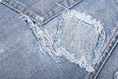 Jeansbeschaffenheit Lizenzfreie Stockbilder