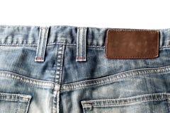 Jeansbeschaffenheit Lizenzfreies Stockbild