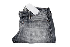 Jeansbeschaffenheitsfragment Stockfotografie