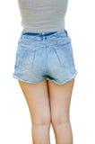Jeansborrels Stock Afbeelding