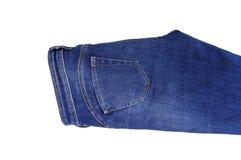 Jeansbovenste gedeelte van de zak Royalty-vrije Stock Foto's