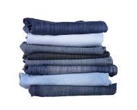 jeansbunt Royaltyfri Fotografi