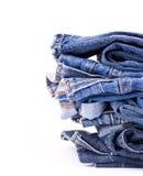 jeansbunt Royaltyfria Foton