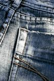 Jeansdetail Stockfoto