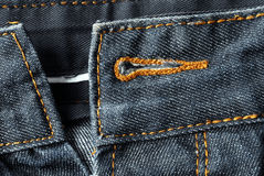 Jeansdetail Stockbilder