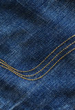 Jeansdetail Royalty-vrije Stock Foto's