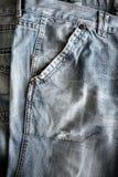 Jeansdetalj Arkivfoton