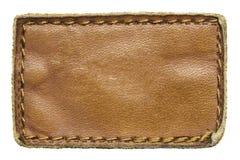 Jeansetiket royalty-vrije stock foto's