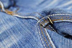 Jeansflåsanden Arkivbild
