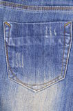Jeansflåsanden Arkivfoto