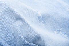 Jeansflåsanden Arkivfoton