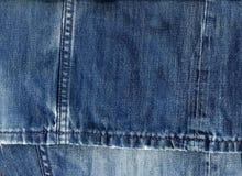 Jeansgewebehintergrund Stockbilder