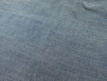 Jeansgrov bomullstvilltyg Arkivbild