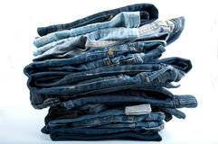 Jeanshög Arkivbilder