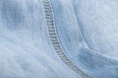 Jeansmakro Fotografering för Bildbyråer