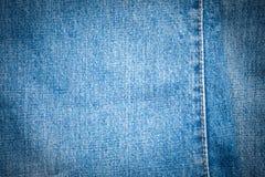 jeansmaterial parts textur Arkivfoton
