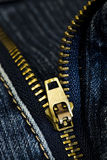 Jeansreißverschluß Lizenzfreie Stockfotos