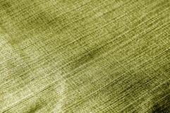 Jeansstoffmuster mit Unschärfeeffekt im gelben Ton Lizenzfreies Stockbild