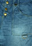 Jeanstasche lizenzfreie stockfotos