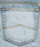 Jeanstasche Stockfotografie
