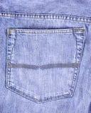 Jeanstasche Stockbild