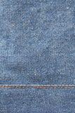 jeanstextur Arkivfoton