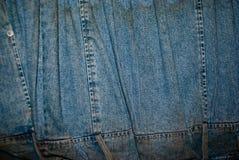 jeanstextur Royaltyfri Foto
